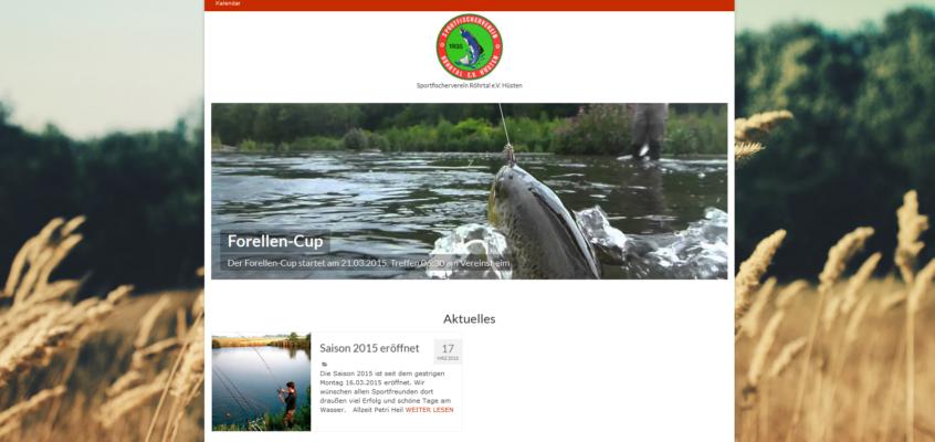 Neue Webseite fertiggestellt