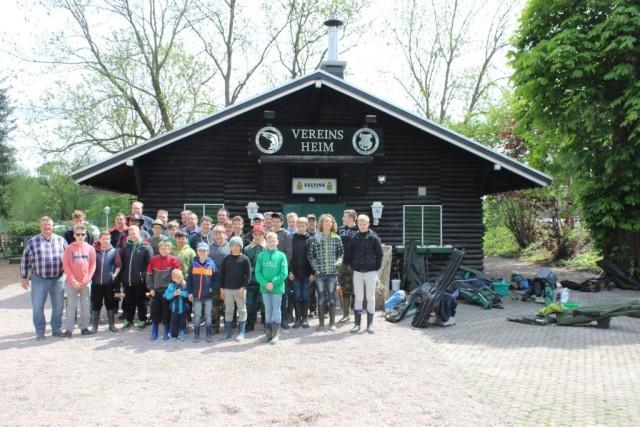 Ruhr Angeltag mit der Jugend aus Münster